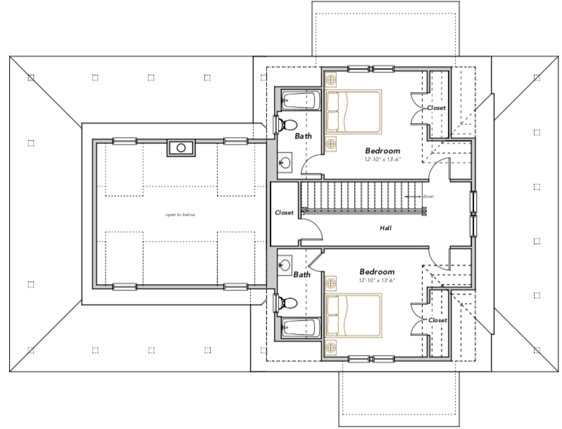 Compass Cove Home Plan Flatfish Island Designs Coastal Home Plans