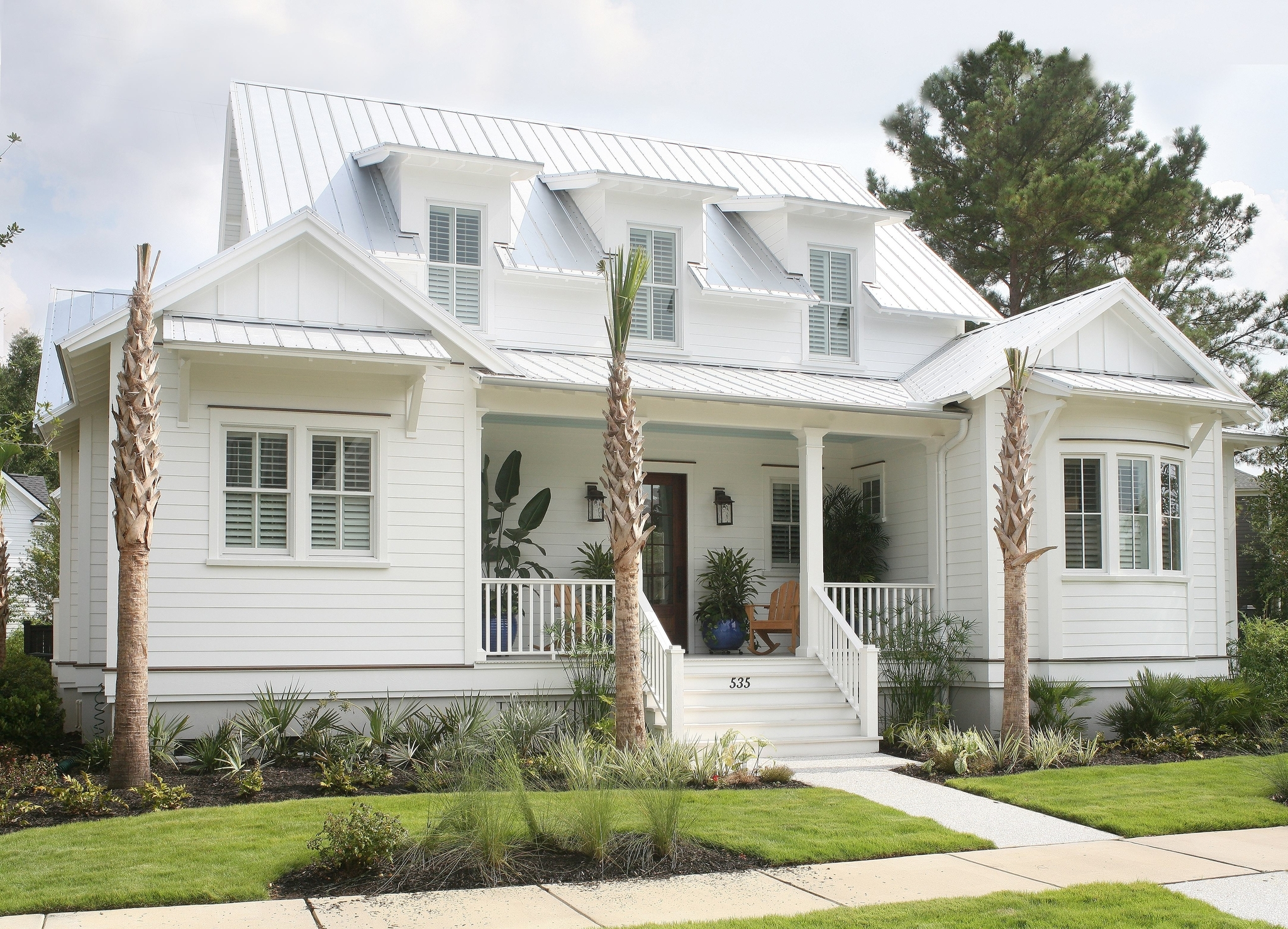 Coastal Cottage House Plans — Flatfish Island Designs — Coastal Home ...