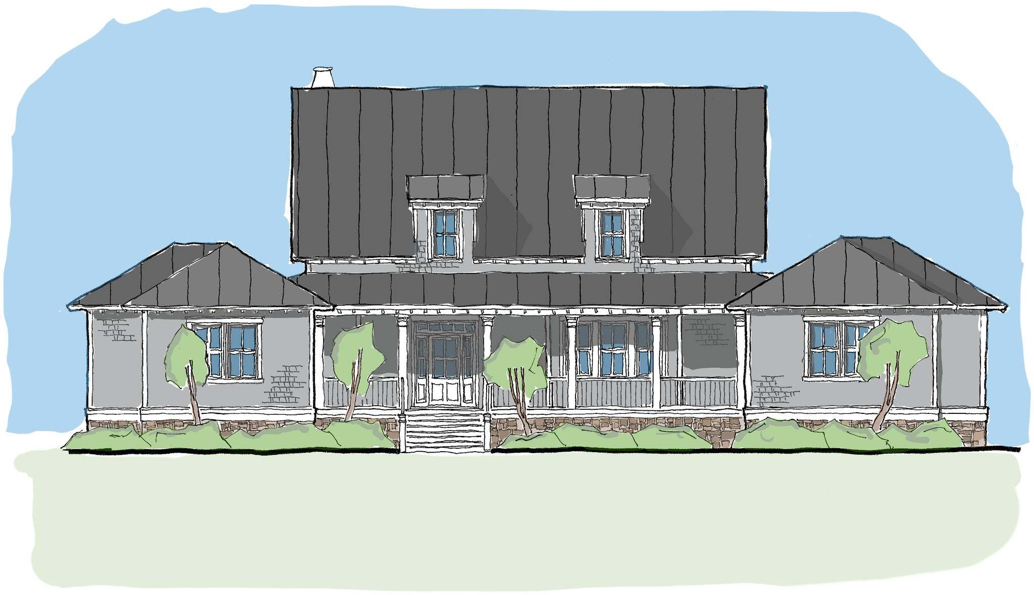Open Floor Plans with Wrap Around Porches Rest Collection