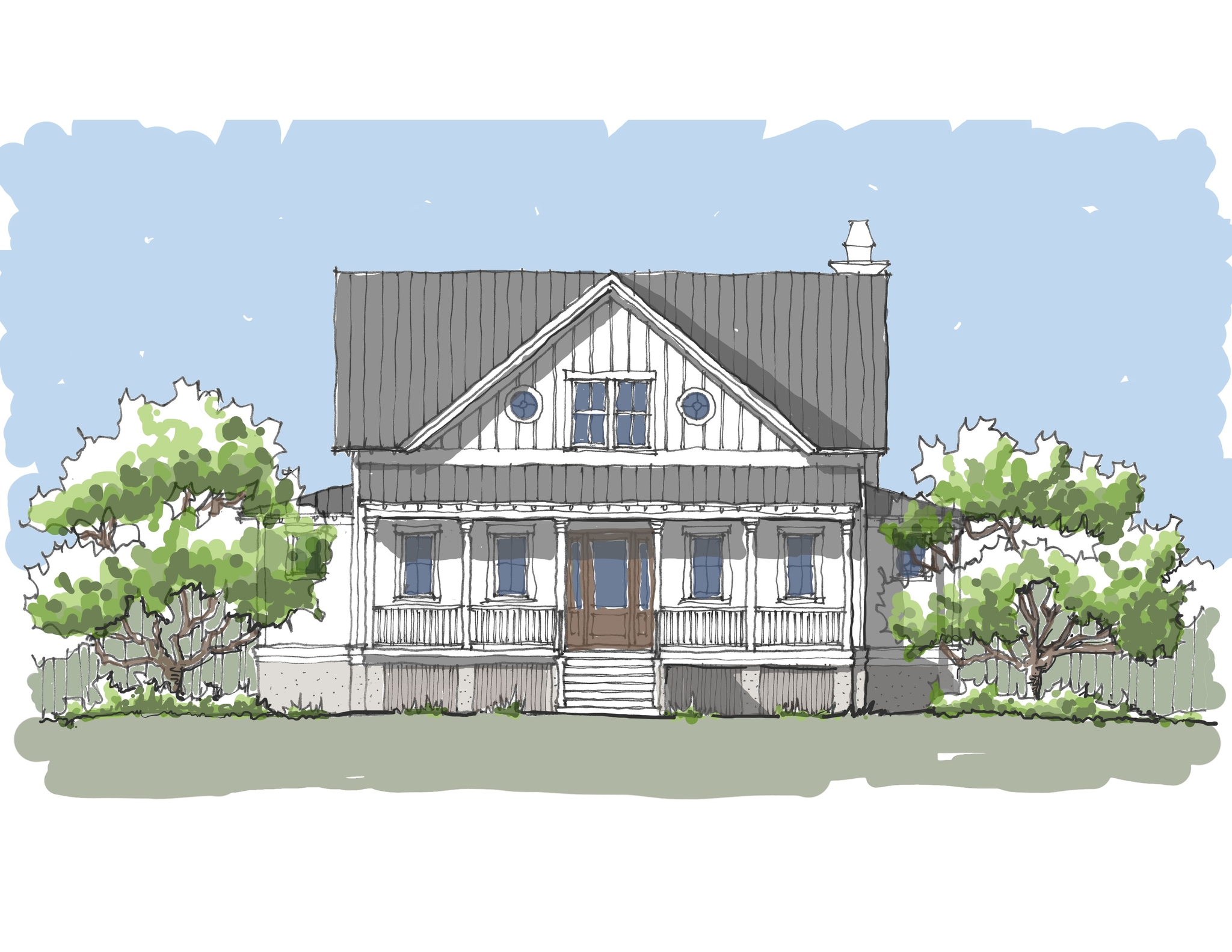 Shelter Cove Flatfish Island Designs Coastal Home Plans