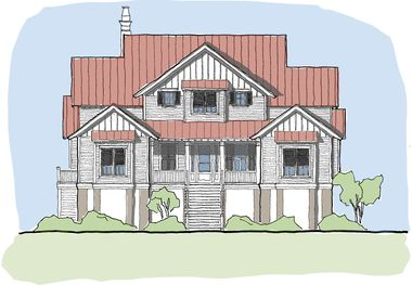 Wateree Tide House Plan